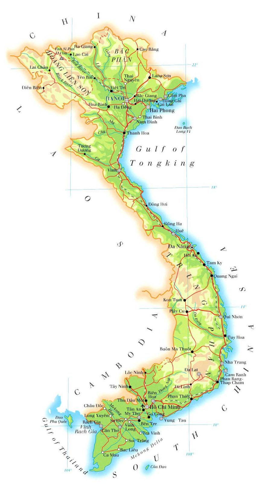 Mountains In Vietnam Map.About Vietnam Vietnam Photo Workshops